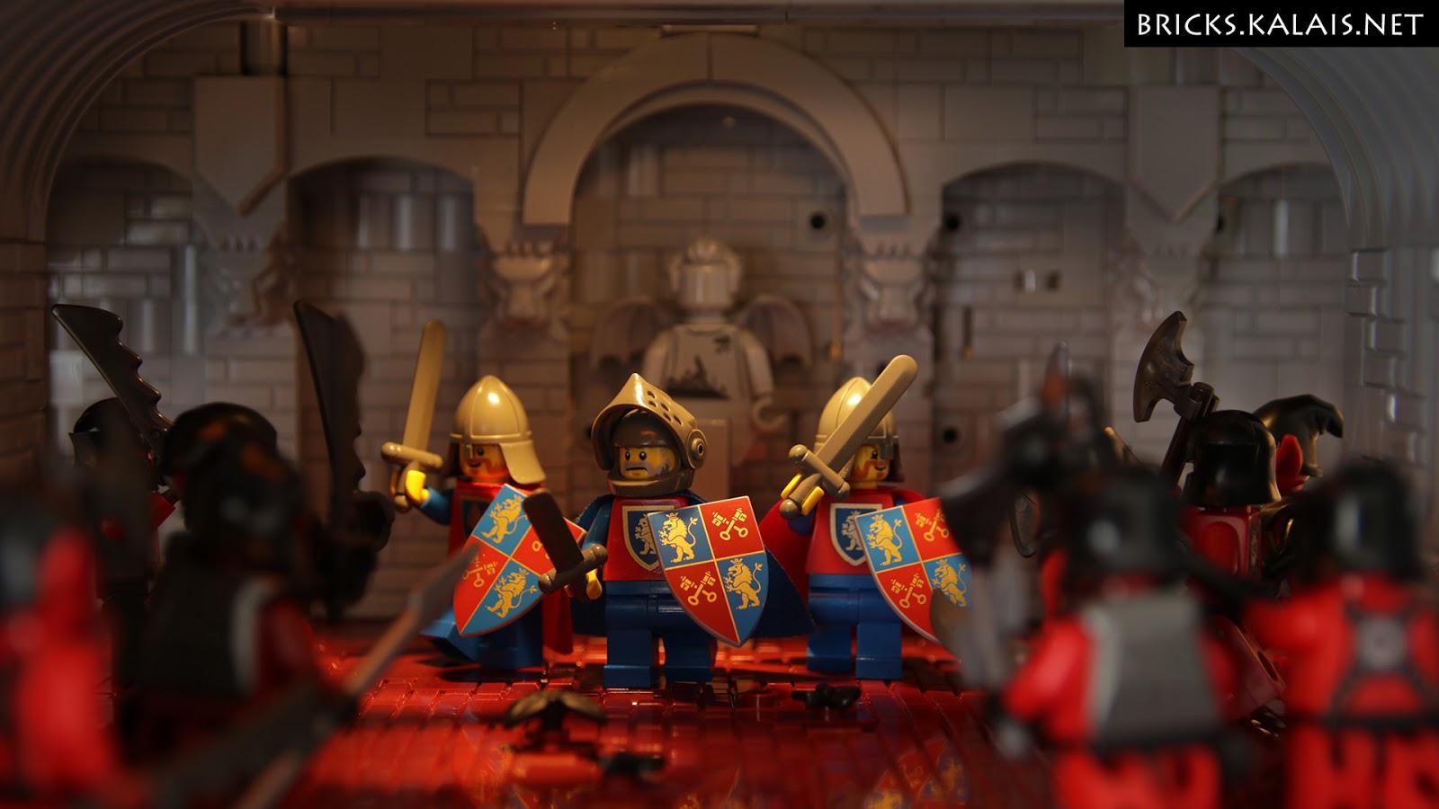 [MOC] Rycerze Lwa z nowymi tarczami