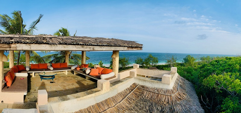 Villa on watamu beach