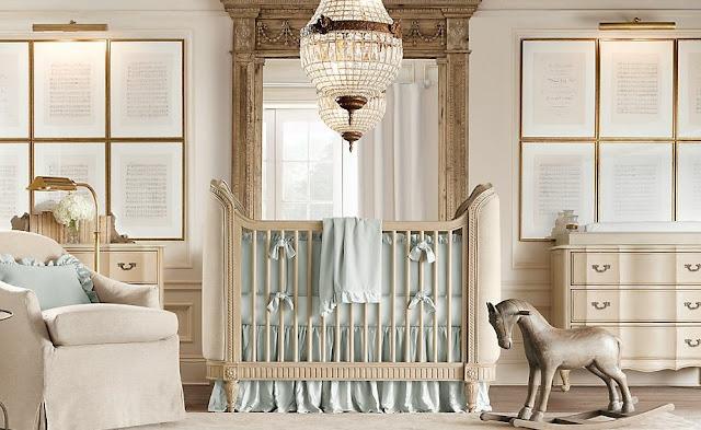 decoração quarto de bebe menino príncipe