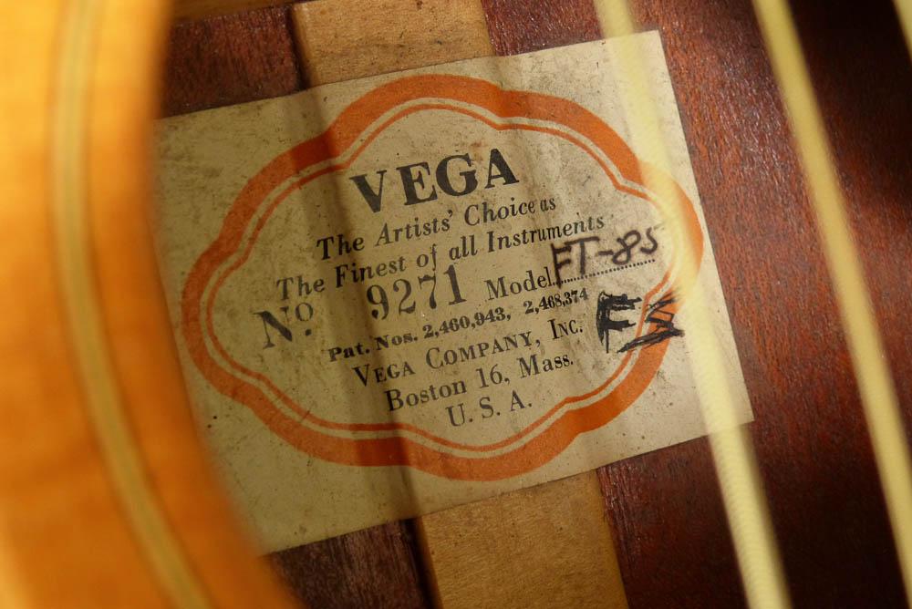 c 1950 Vega FT-85 Concert Guitar