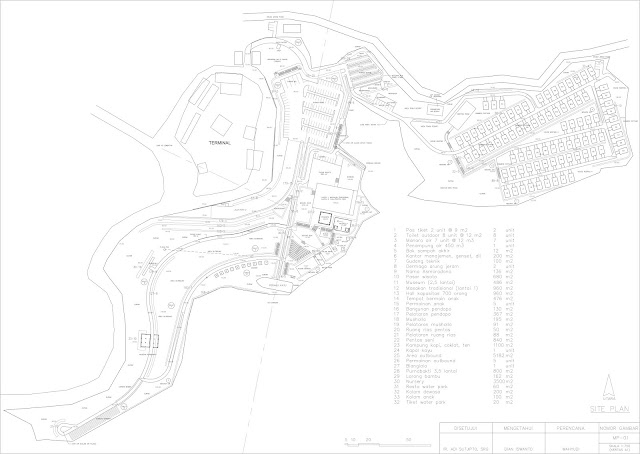 Gambar Site Plan Resort