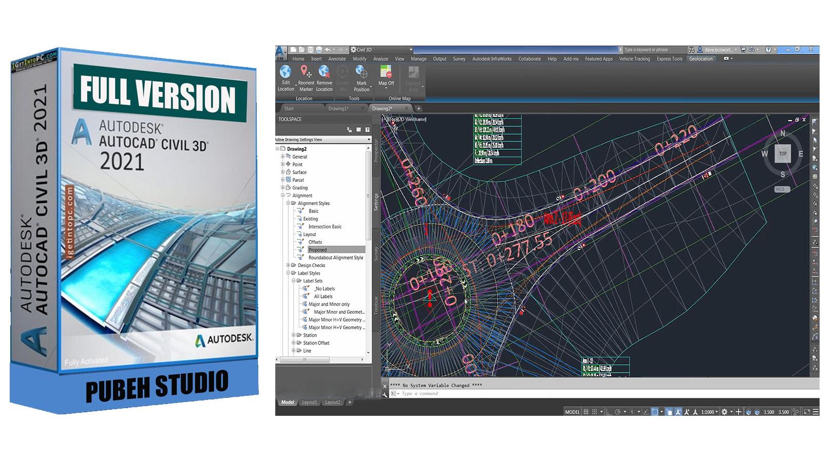 Cara Install Autocad Civil 3D 2021 Full Version Gratis