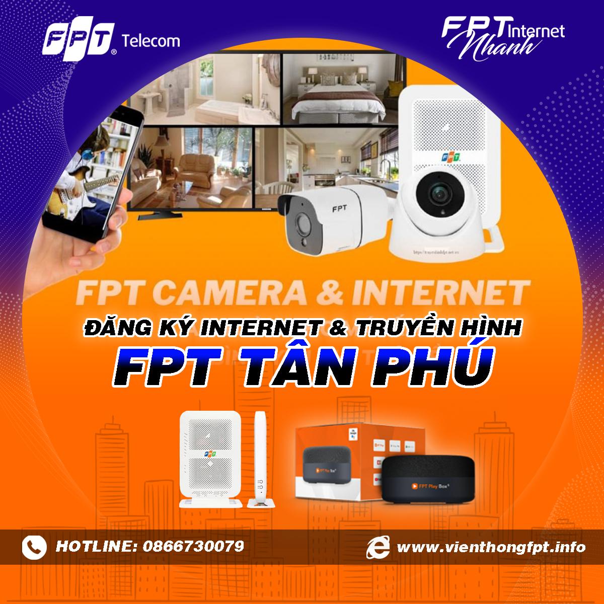Tổng đài FPT Tân Phú - Đăng ký Internet và Truyền hình FPT