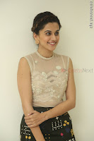 Taapsee Pannu in transparent top at Anando hma theatrical trailer launch ~  Exclusive 080.JPG