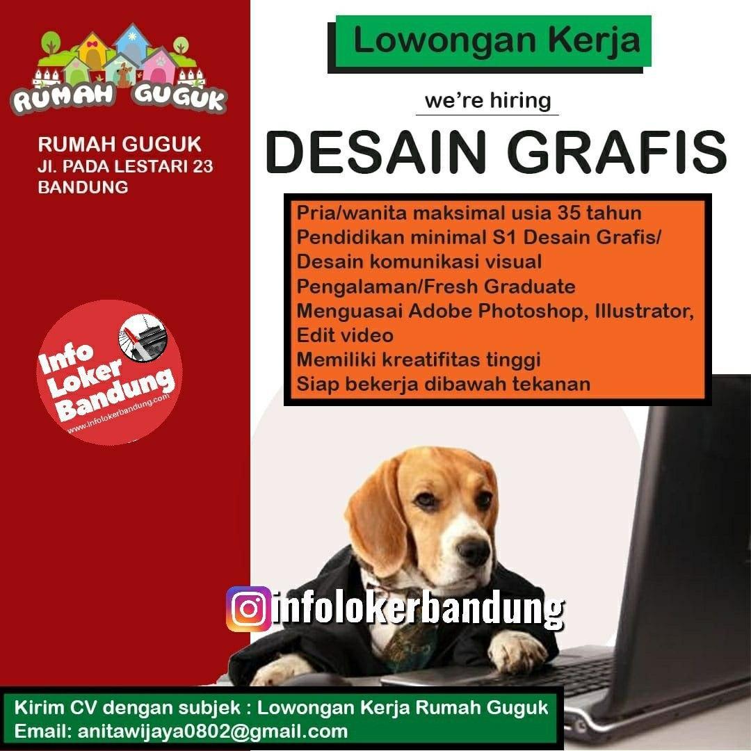 Lowongan Kerja Desain Grafis Rumah Guguk Bandung Januari 2020