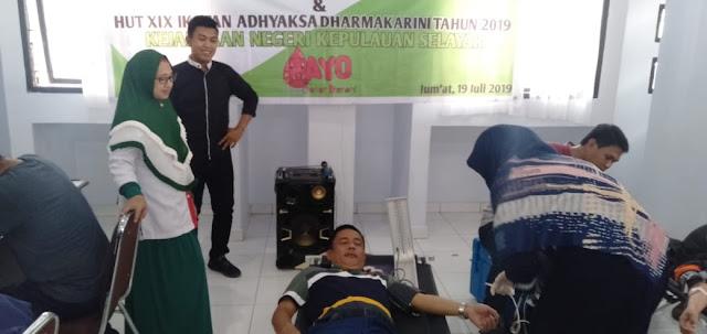 Jaksa Di Selayar, Lakukan Aksi Sosial Donor Darah