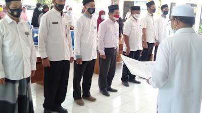 Pelantikan Pengurus UPZ wilayah kecamatan Kemiri.