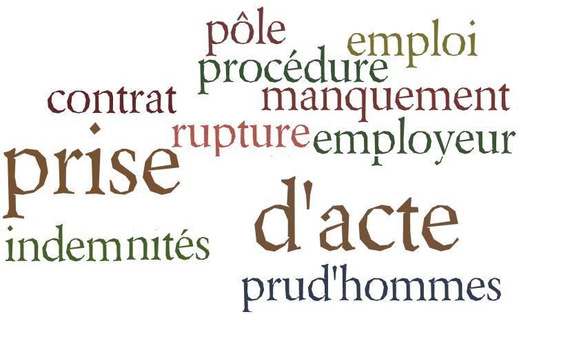 Prise D Acte De Rupture Du Contrat De Travail Le Blog D Un Expert