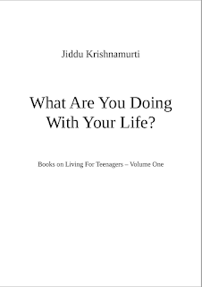 What are You Doing with Your Life by Jiddu Krishnamurti, Dale Carlson PDF Book Download