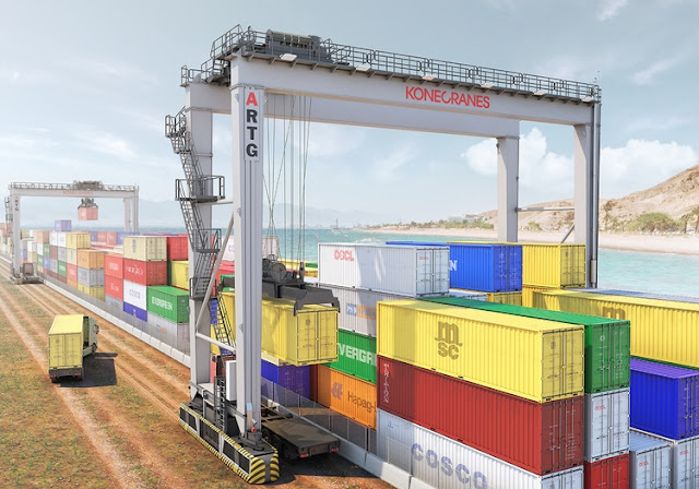 Konecranes to Supply ARTGs to Yilport-owned Three European Container Terminals