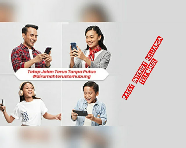 Paket #KuotaKeluarga Telkomsel