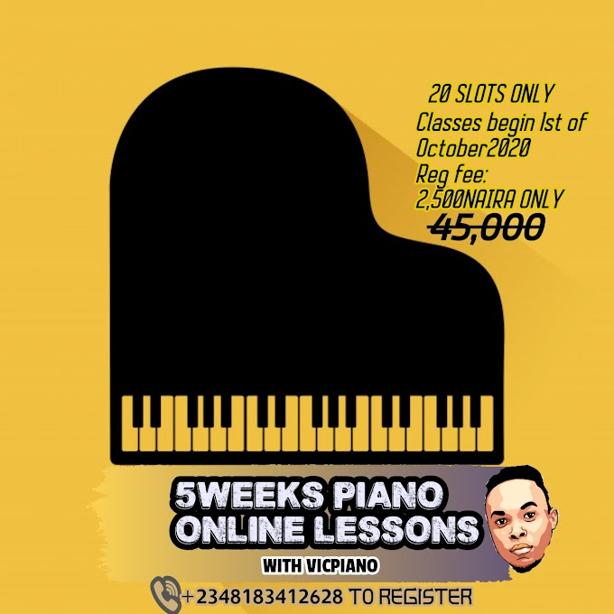 5WEEKS PIANO LESSONS WITH VICPIANO
