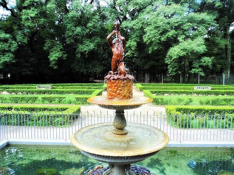 Chafariz em Jardim da Redenção, em Porto Alegre