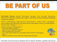 Lowongan Kerja  PT. Zarindah Group