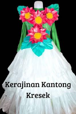 Gaun Cantik Kresek