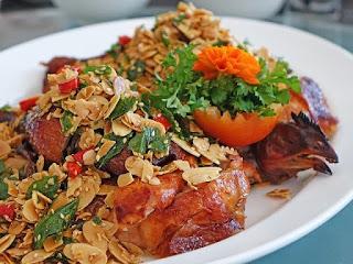 Resep masakan ayam daun kemangi
