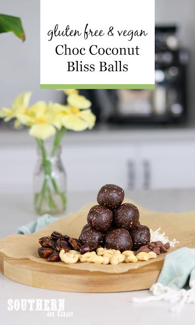 Chocolate Coconut Bliss Balls Recipe - coconut rough raw bites recipe, raw bounty bar balls