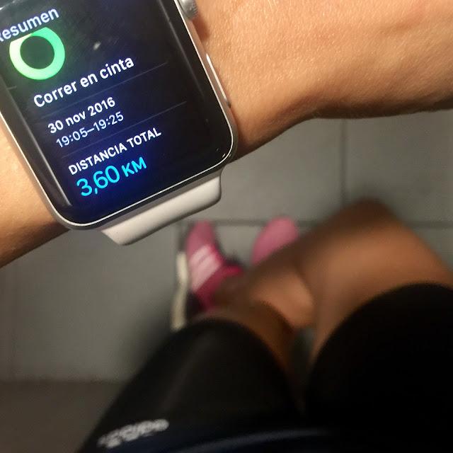 Mi diario runner, entrenamiento, maraton valencia, motivacion. apple watch sport