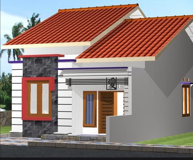 Contoh Gambar Desain Rumah Minimalis Mungil, Keren