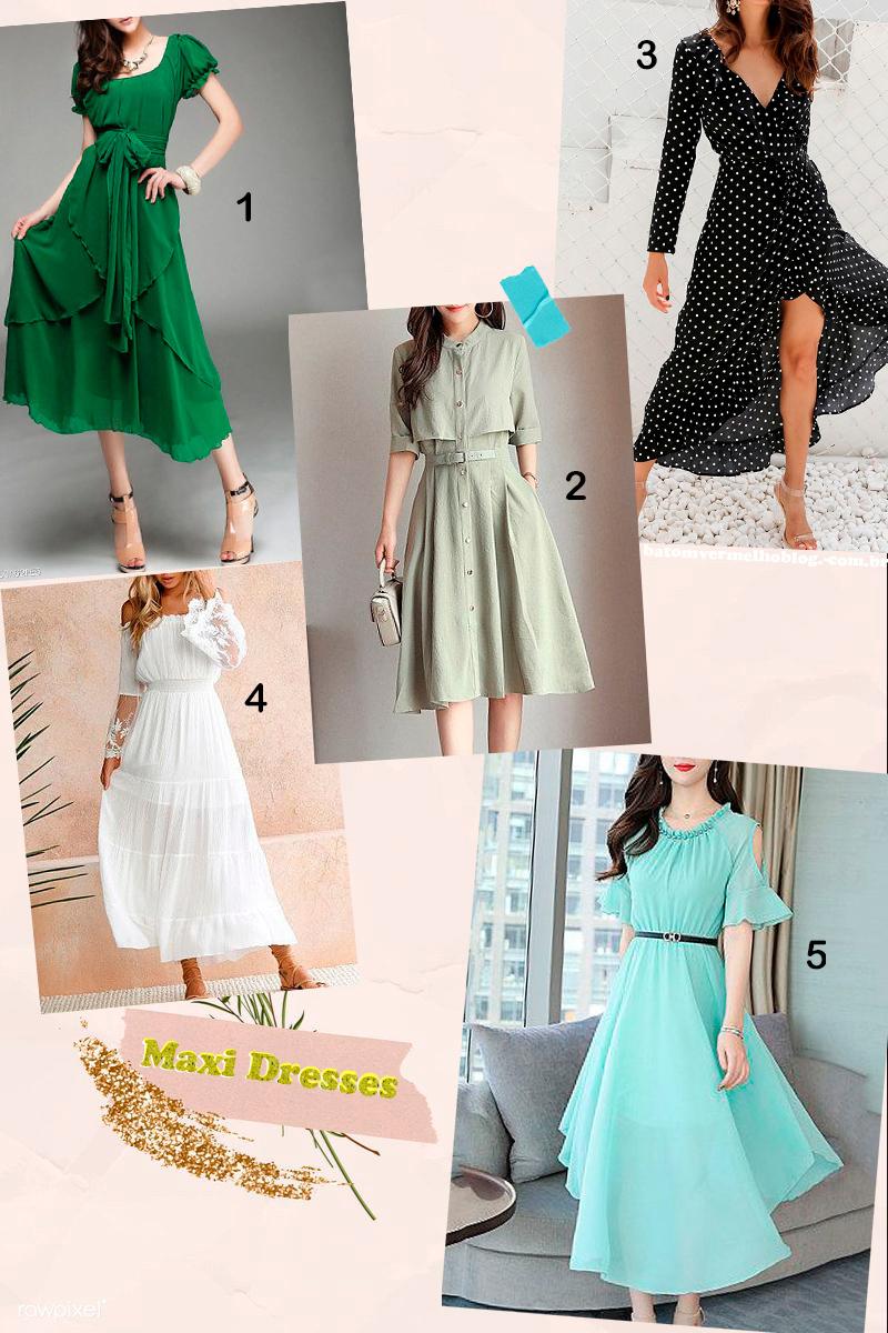 Berrylook maxi dresses