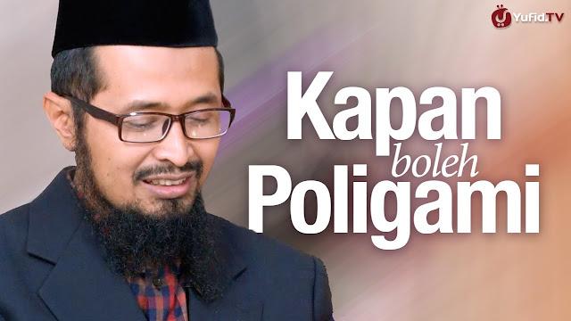 SYARAT DAN HUKUM POLOGAMI DALAM PANDANGAN ISLAM
