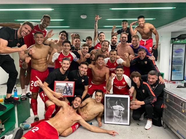 Sevilla FC vestuario