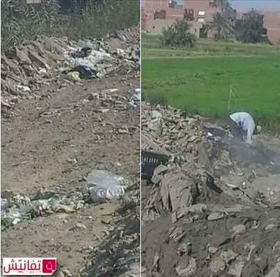 مشكلة القمامه في محافظة الفيوم