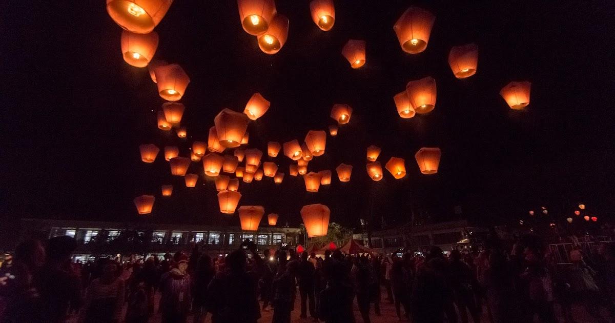 pingxi sky lantern festival travel taiwan