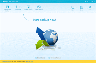 تحميل برنامج حفظ الملفات على الانترنت مجانا Todo Backup free