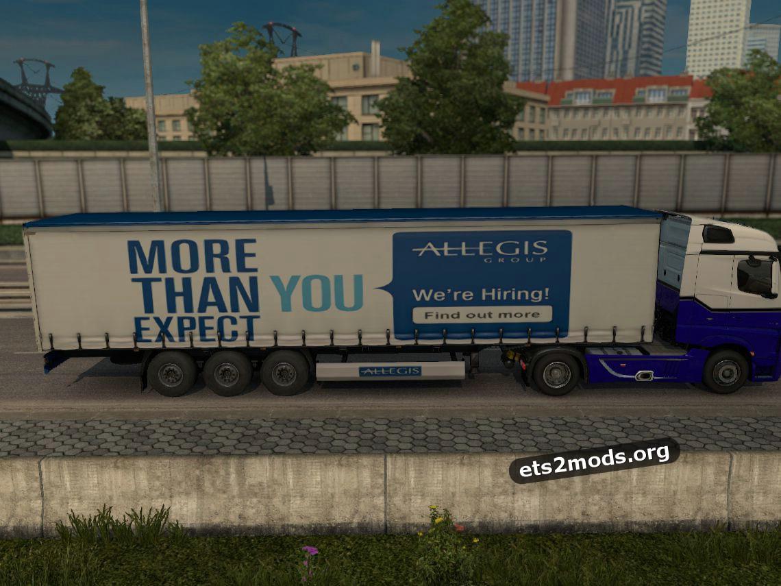 Allegis Group trailer mod