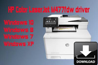 HP Color LaserJet M477fdw Driver