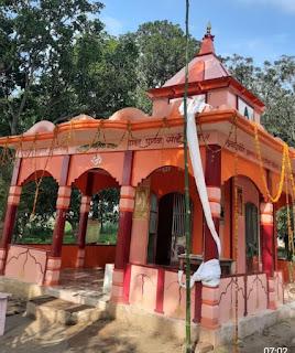 #JaunpurLive : ठाकुर परिवार ने जौनपुर में बनवाया भव्य साईबाबा का मंदिर