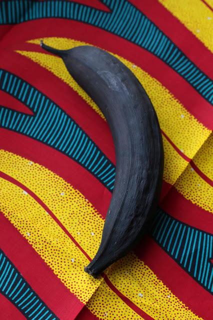 plantain très mûre noire