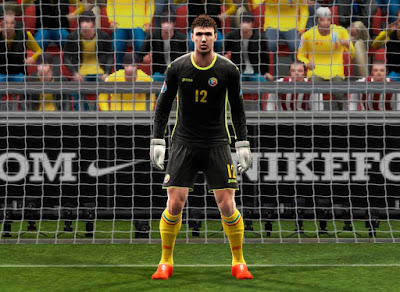 PES 13 Germany, Romania, Russia, Sweden, Ukraine by Abiel