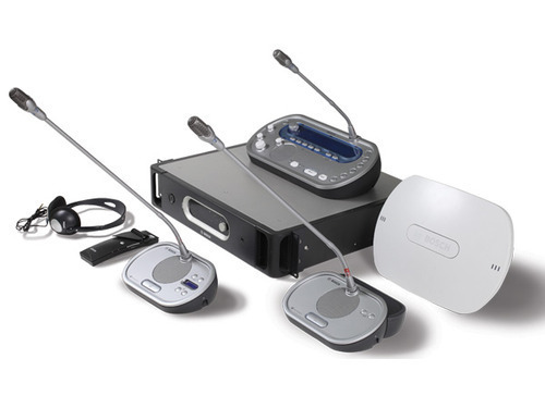 4 Wireless simultaneous translation equipment for seminar or forum