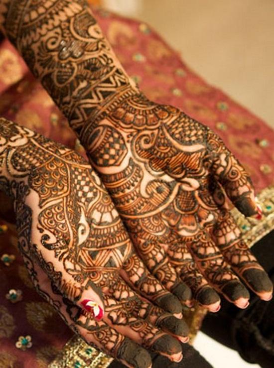 Beautiful Bridal Mehndi Designs For Wedding