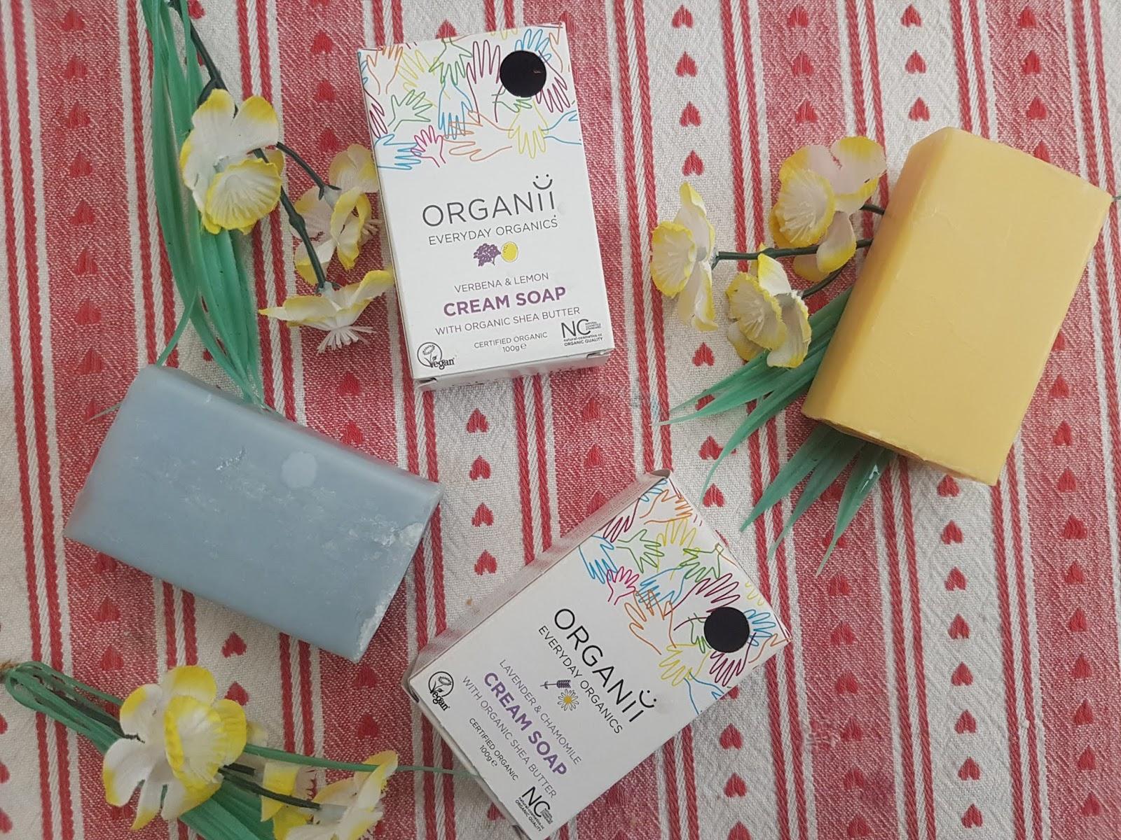 Organii Cream Soap Review