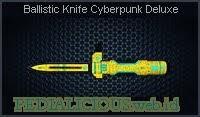 Ballistic Knife Cyberpunk Deluxe