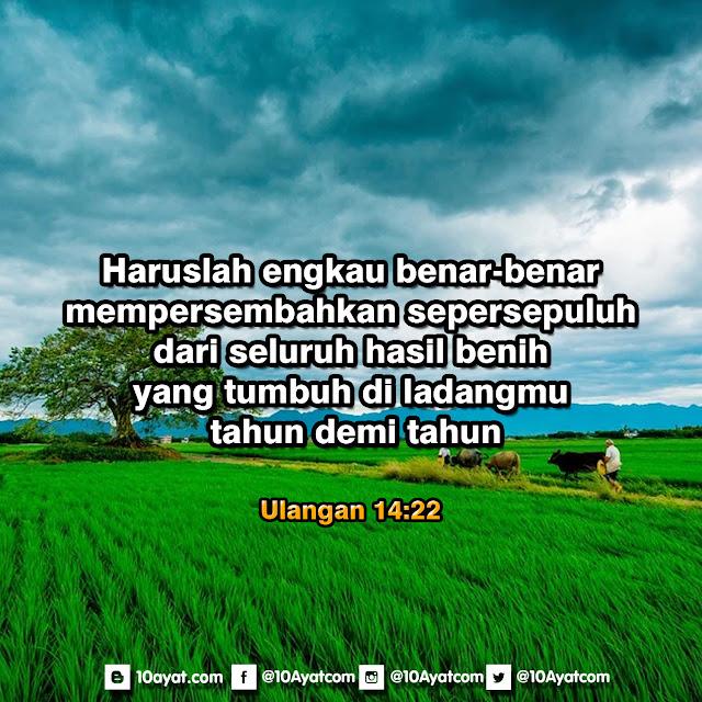 Ulangan 14:22
