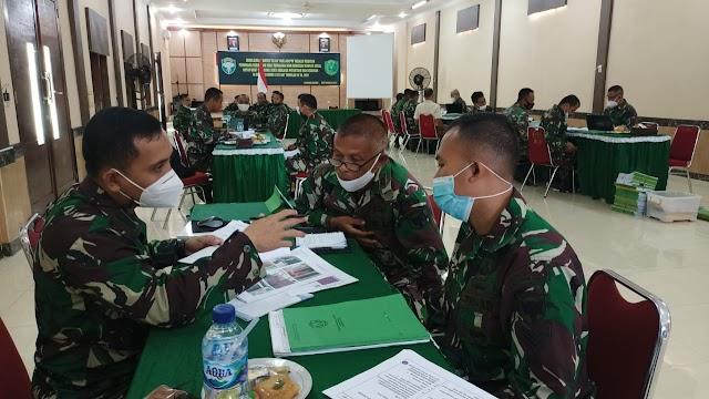 Tim Wasrik Current Audit Itdam IM Periksa Kodim 0103/Aceh Utara