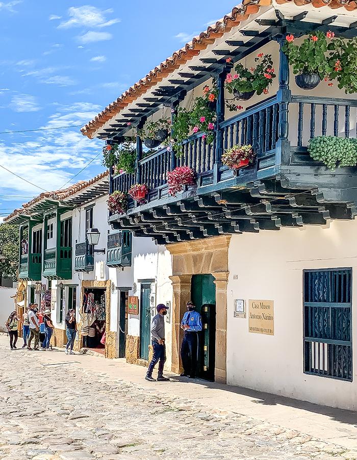 Spanish colonial façade