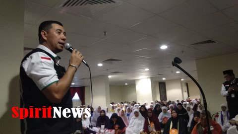 Petugas Sektor II, Selaku Perlindungan Jamaah Haji  Embarkasi Makassar dan Aceh di Tanah Suci Mekah