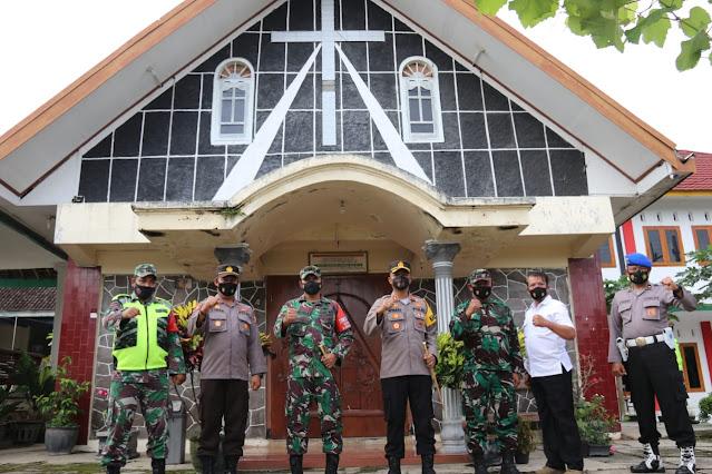 Pastikan Situasi Wilayah Aman, Dandim Ngawi Bersama Kapolres Gelar Patroli