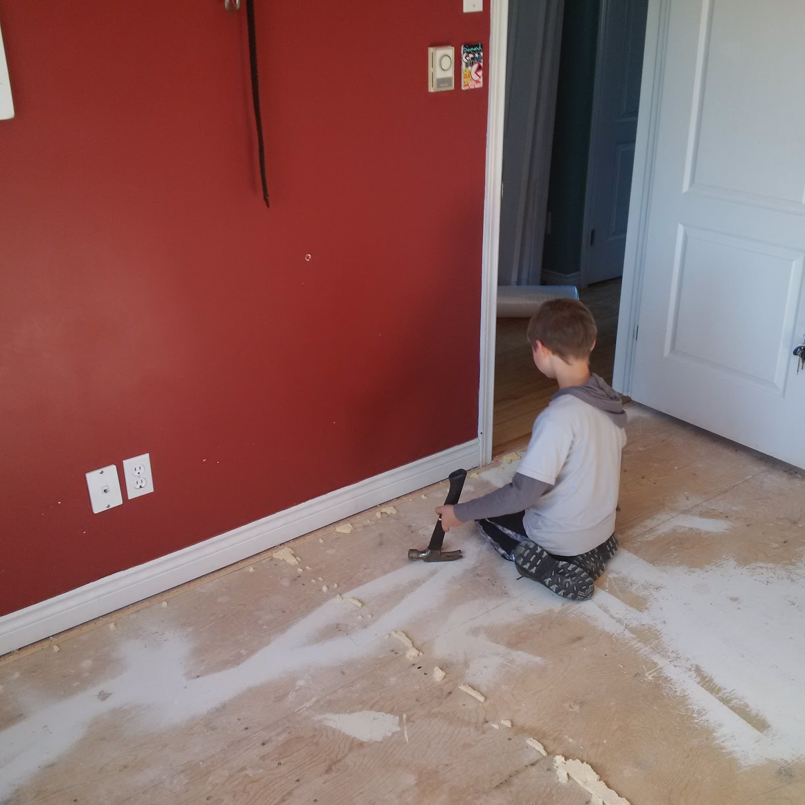 Another Day Another Project: Install Laminate Flooring For