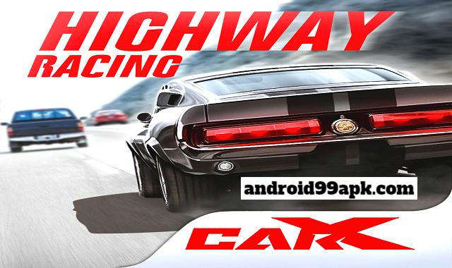 لعبة CarX Highway Racing v1.66.2 مهكرة كاملة بحجم 340 MB للأندرويد