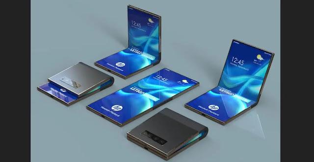 الصور الأولى لبراءة اختراع هاتف HP القابل للطي