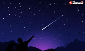 Cara Melihat Meteor di Langit Malam