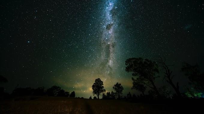 Noite Estrelada, Via Láctea, Galáxia, Natureza