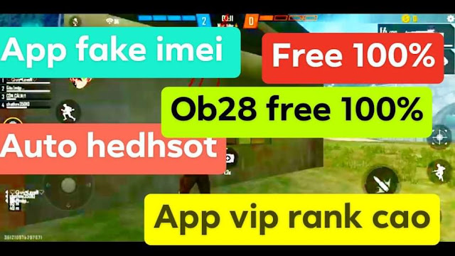 APP INEI FREE FIRE OB28 AUTO VIP APP VIP RANK CAO HỖ TRỢ LEO RANK FREE 100%