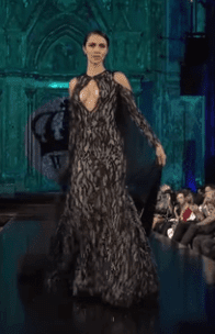 evening gowns with trains
